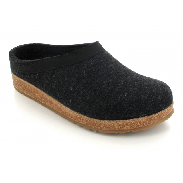 Haflinger - Wool Felt Grizzly GZL Clogs