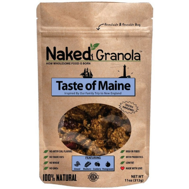 Naked Granola - Taste of Maine Granola