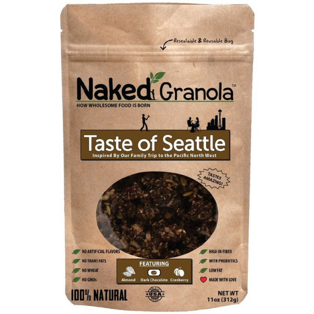 Naked Granola - Taste of Seattle Granola