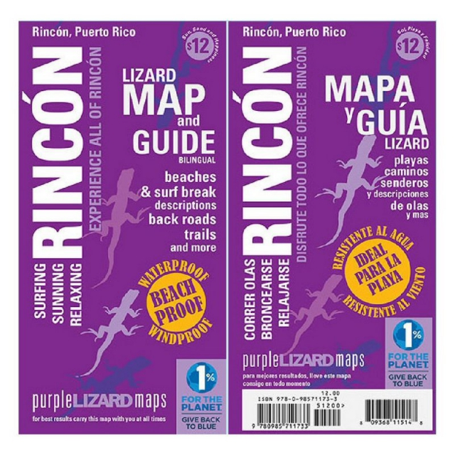 Purple Lizard Pub. - Rincon Map