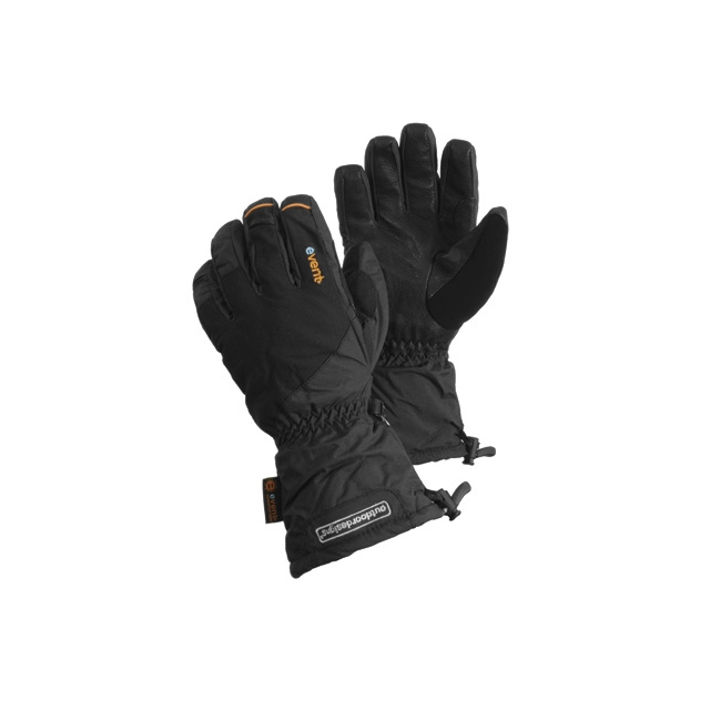 Outdoor Designs - - Fitzroy Gauntlet Gloves - Small - Black