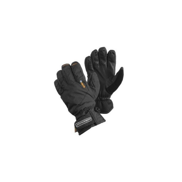Outdoor Designs - - Fitzroy Inferno Gloves - Small - Black