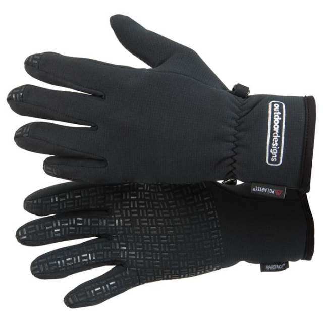 Outdoor Designs - - Takustretch Glove Wmn - Small - Black
