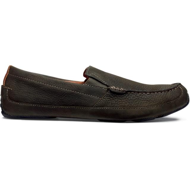 Olukai - Mens Akepa Moc - Closeout Seal Brown/Seal Brown 10.5