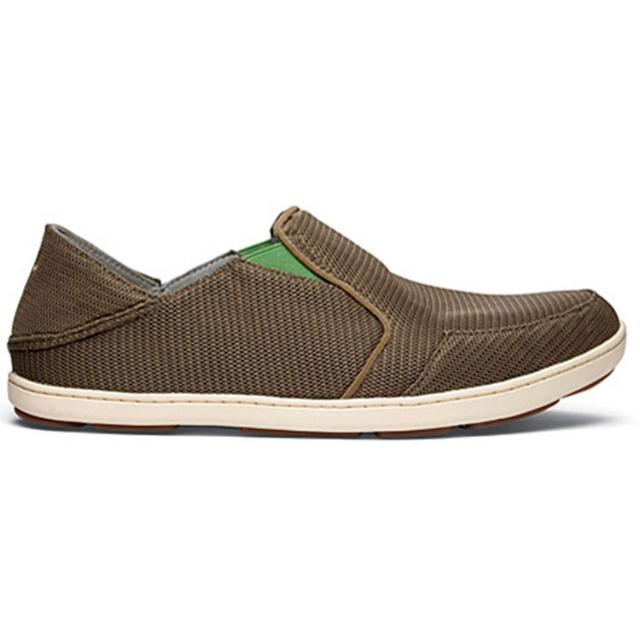 Olukai - Nohea Mesh Shoe Mens - Mustang / Lime Peel 11.5