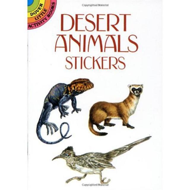 Algonquin Books - Dover Mini Book: Stickers