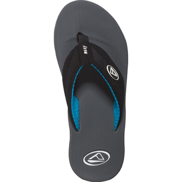 Reef - Phantoms Sandal Mens - Grey/Black 7