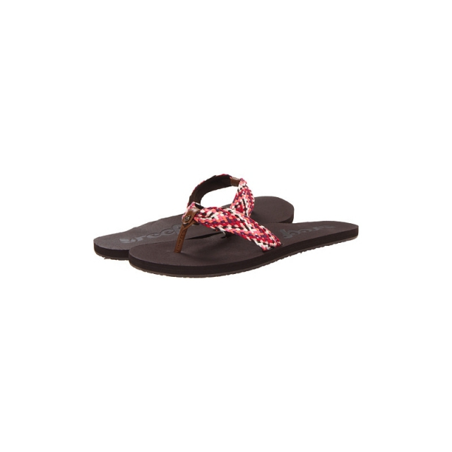 Reef - Womens Mallory Scrunch - Closeout Brown/Pink 7