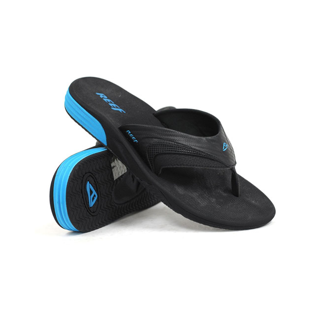 Reef - Men's Phantom Player, Black/Neon, 9