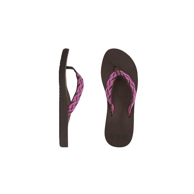 Reef - Mid Seas Flip-Flop - Women's-Brown Pink-7