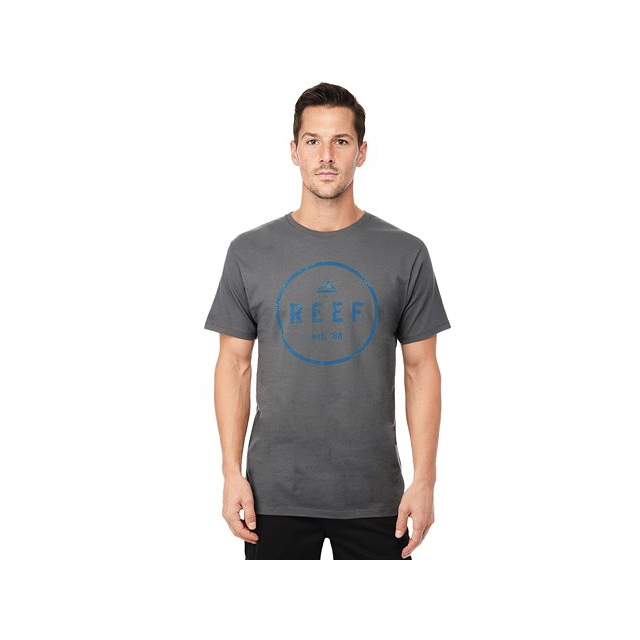 Reef - - Colorep SS Shirt - Small - Charcoal