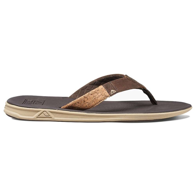 Reef - Slammed Rover LE Flip Flop - Men's-Brown/Cork-7