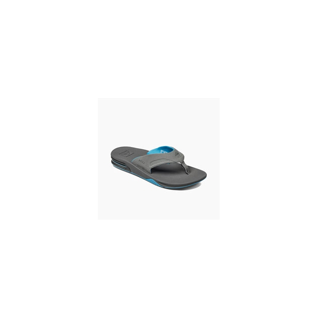 Reef - Fanning Flip-Flops - Men's - Gunmetal Blue In Size: 14
