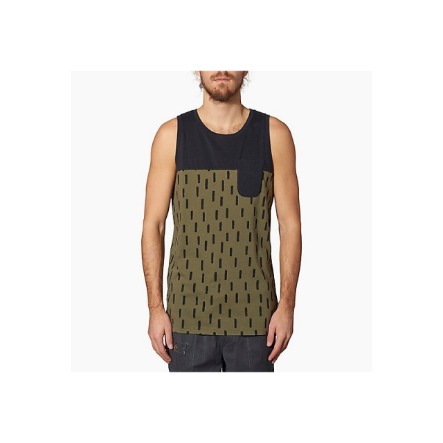Reef - Mens Weekend Tank - Closeout Olive Large