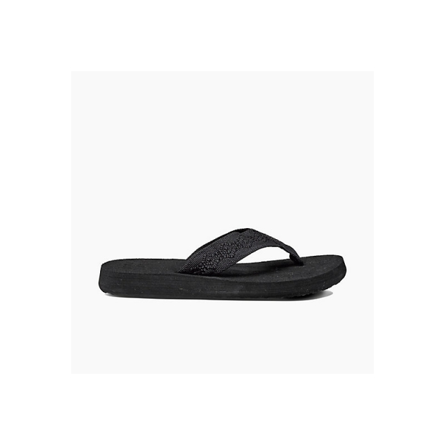 Reef - Womens Sandy - Closeout Black/Black 6