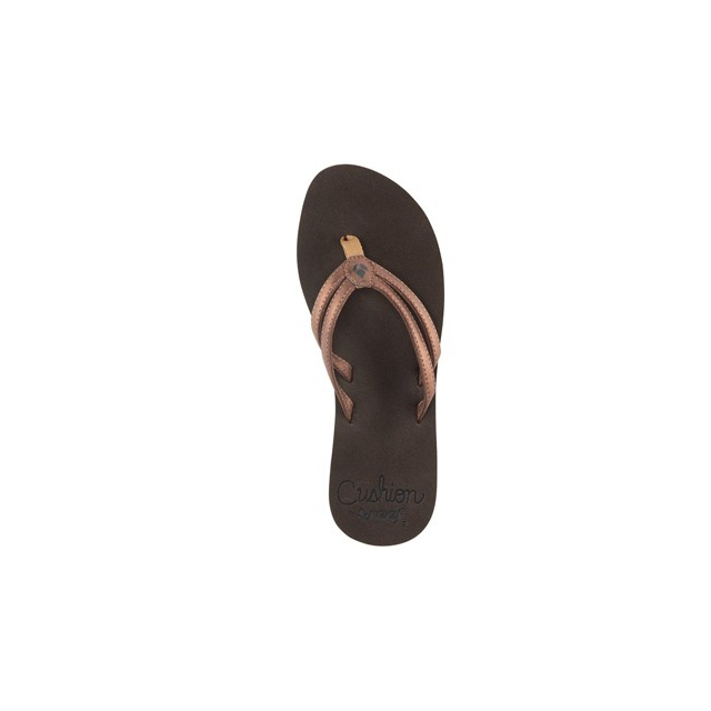 Reef - Cushion Twin Flip Flop - Women's-Bronze-6