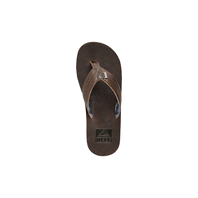 Reef - We Heart Leather Mens Flip Flops