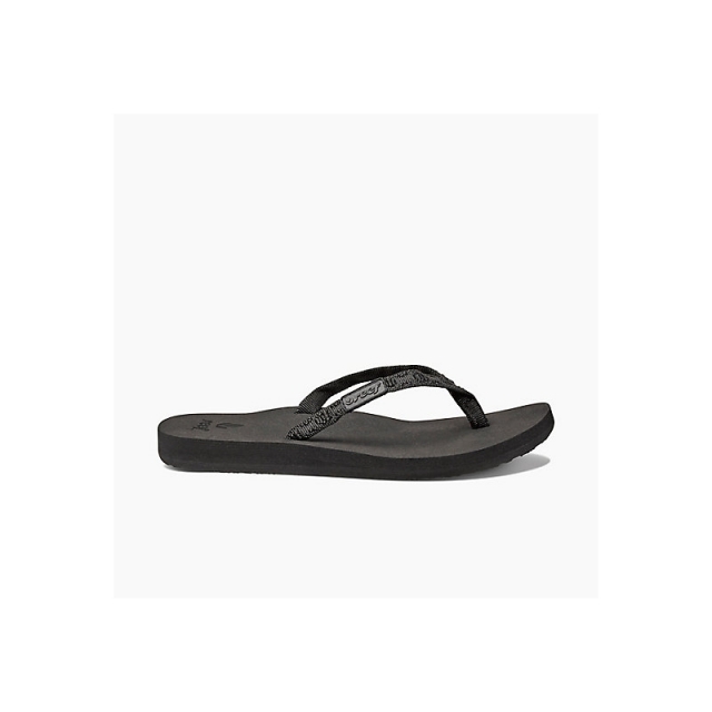 Reef - Womens Ginger Black/Black 8