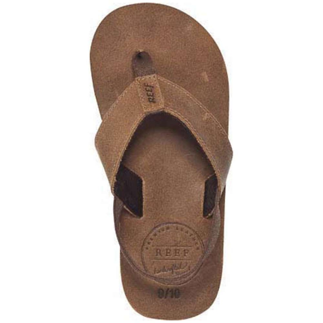 Reef - Boy's Grom Leather Smoothy Sandal