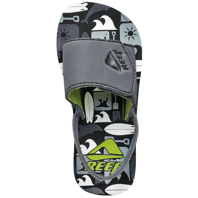 Reef - Boys' Grom Ahi Slide Sandals