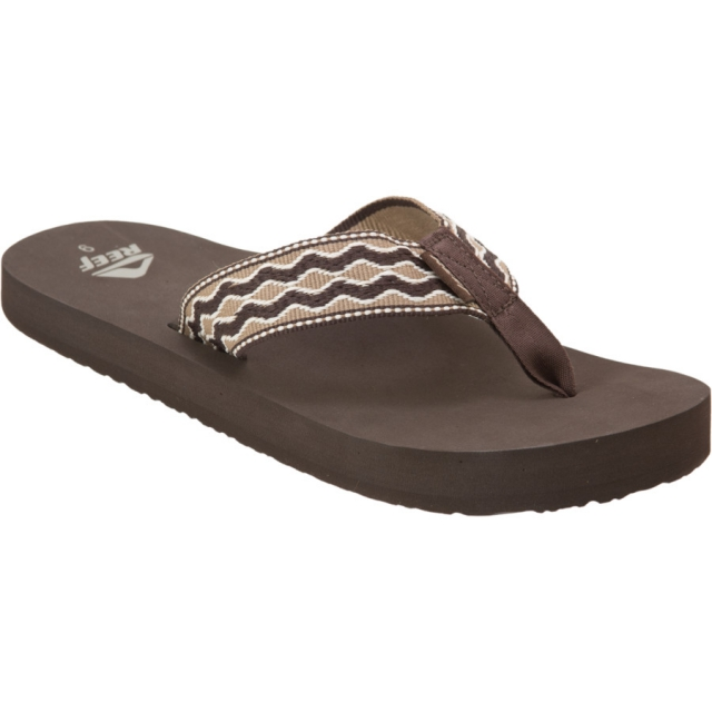 Reef - Smoothy Sandal Mens - Brown/Brown 9