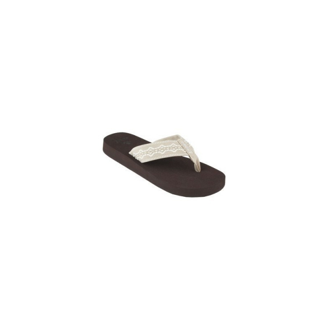 Reef - Womens Sandy Sandals  Brown / Taupe 6