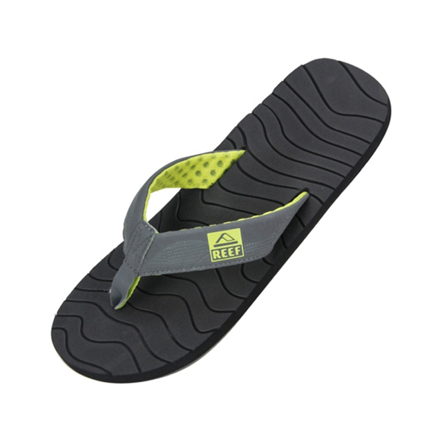 Reef - Roundhouse Sandals - Men's: Back/Green, 7