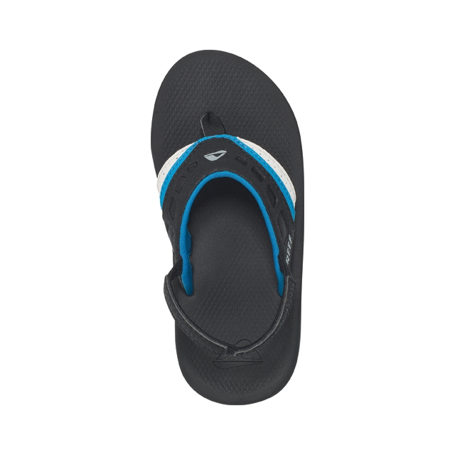Reef - Kids Vision Sandals - Kid's: Black/Blue/Candy, 2