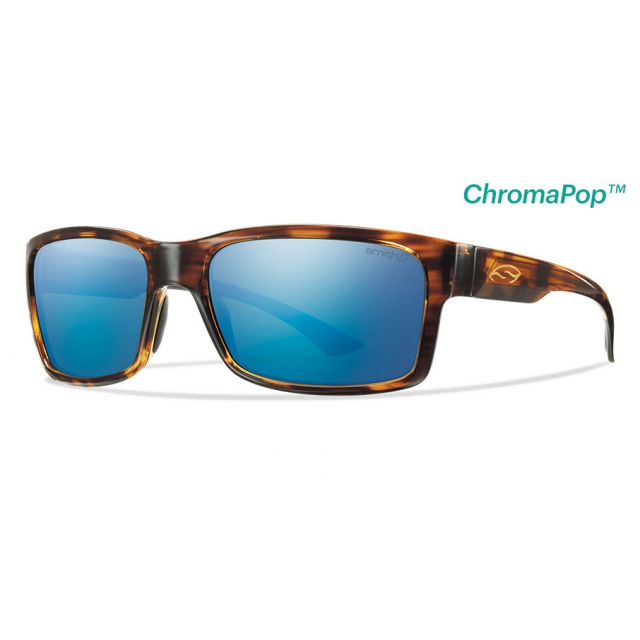 Smith Optics - Dolen Havana ChromaPop+  Polarized Blue Mirror