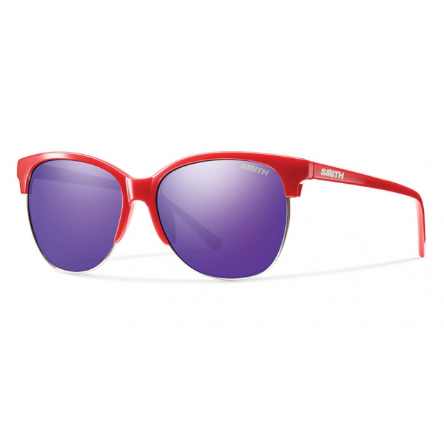 Smith Optics - Rebel Red Purple Sol-X Mirror