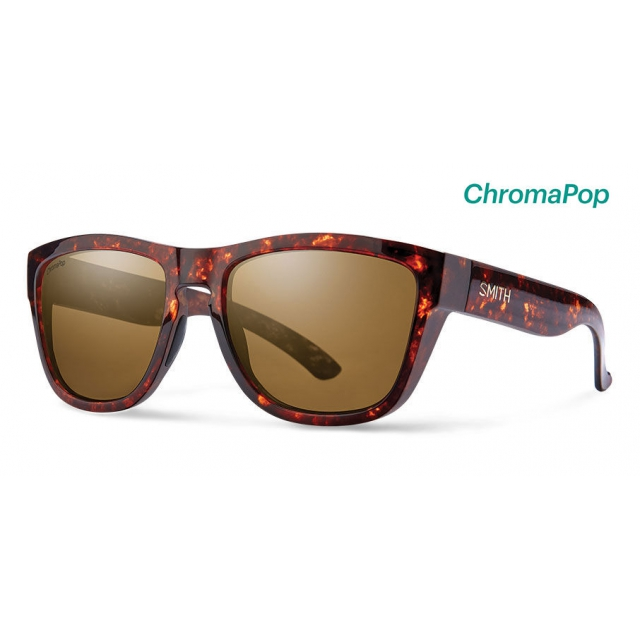 Smith Optics - Clark Vintage Havana ChromaPop Polarized Brown