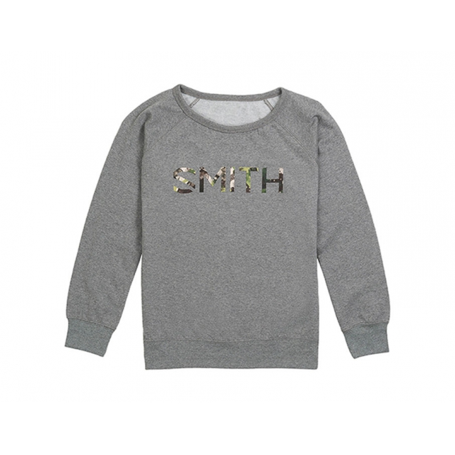 Smith Optics - Distilled Women's Sweatshirt Gunmetal Heather Extra Large