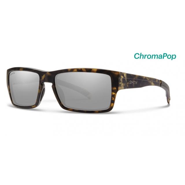 Smith Optics - Outlier Matte Camo ChromaPop Polarized Platinum
