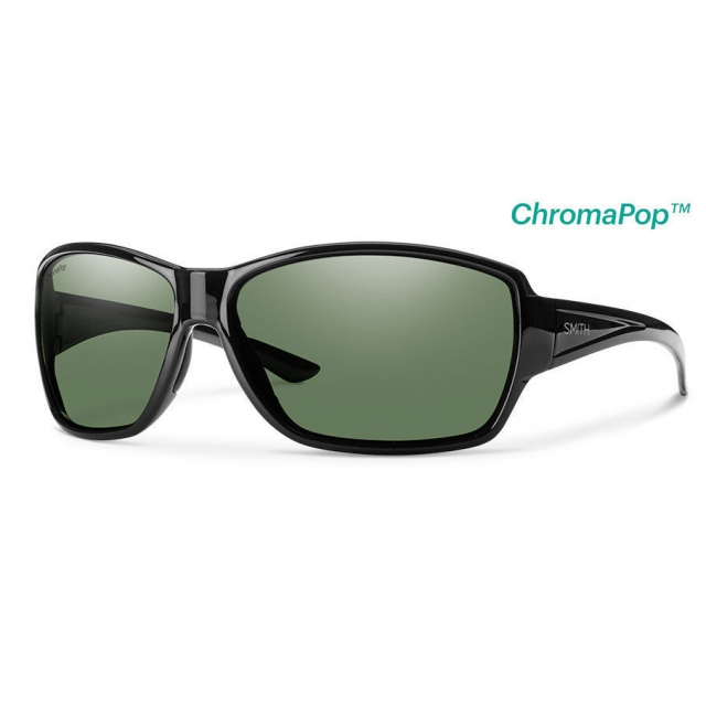 Smith Optics - Pace Black ChromaPop Polarized Gray Green