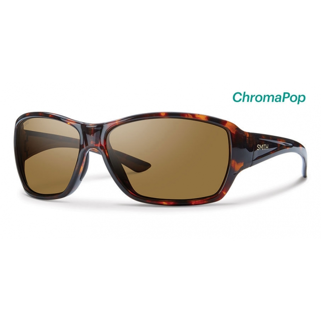 Smith Optics - Purist Tortoise ChromaPop Polarized Brown