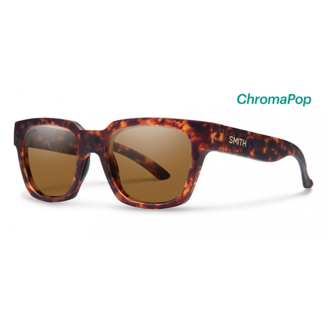 Smith Optics - Comstock Matte Vintage Havana ChromaPop Polarized Brown