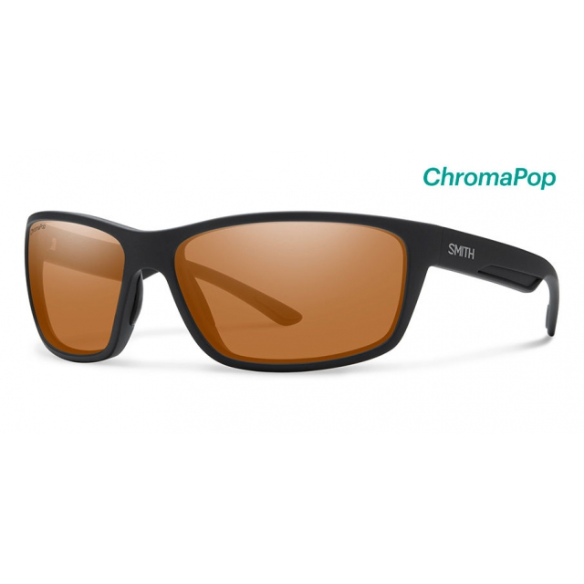 Smith Optics - Redmond Matte Black ChromaPop Polarized Copper