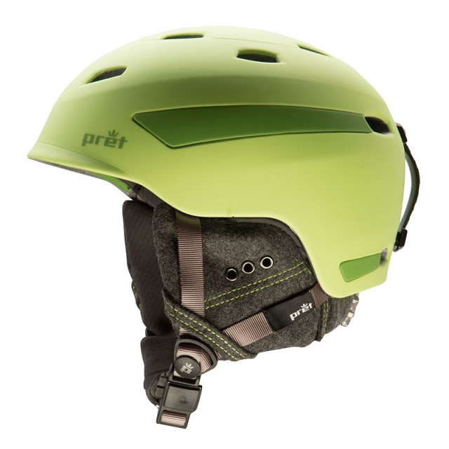 Pret Helmets - - Effect Helmet - SMALL - Rubber Crystal Green
