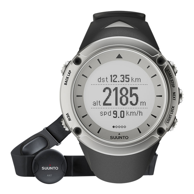 Suunto - Ambit Hr Watch - Silver