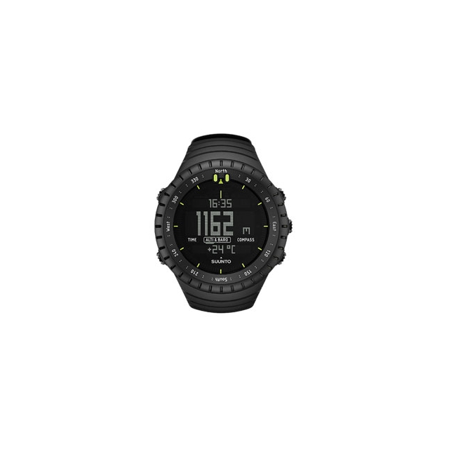 Suunto - Core Altimeter Watch All Black - Black