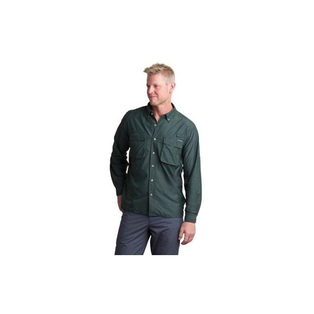 ExOfficio - Men's Air Strip Long Sleeve Shirt