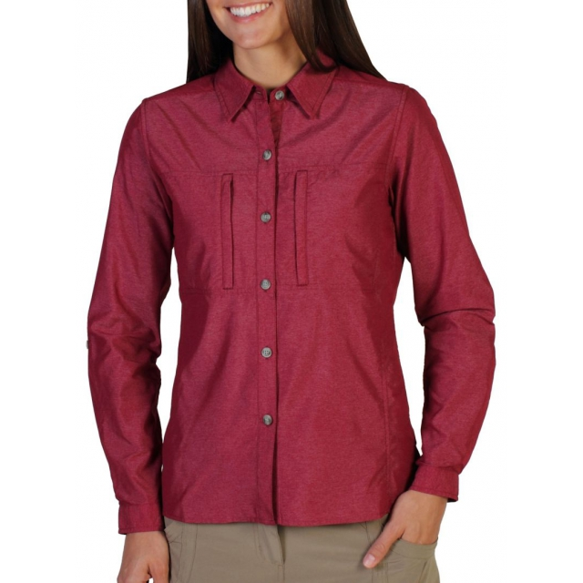 ExOfficio - Women's Dryflylite Long Sleeve Shirt