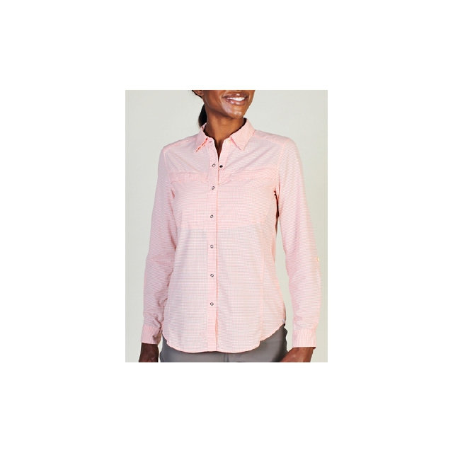 ExOfficio - Women's Bugsaway Halo Check Long Sleeve Shirt