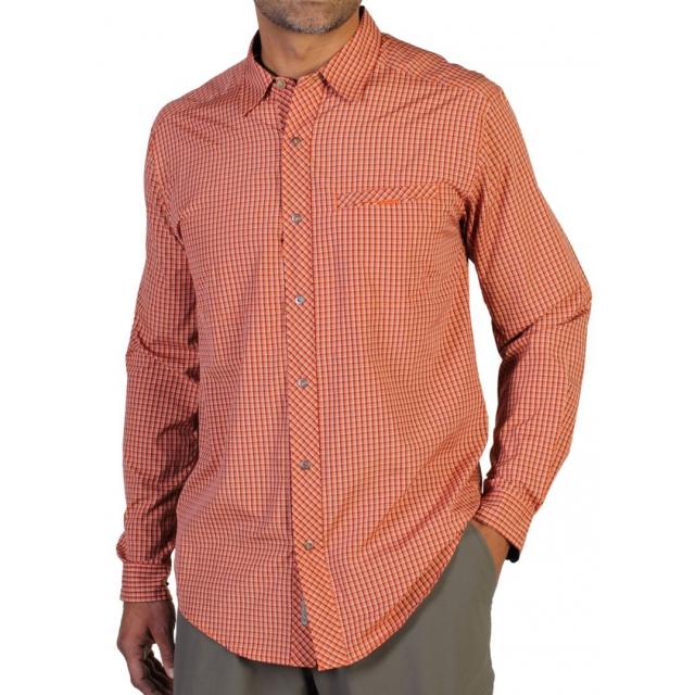 ExOfficio - Men's Trip'R Check Long Sleeve Shirt
