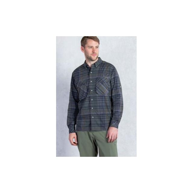 ExOfficio - Men's Air Strip Macro Plaid Long Sleeve Shirt