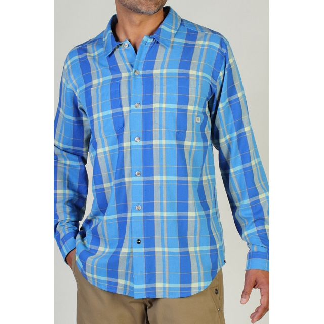 ExOfficio - Men's Bugsaway Talisman Plaid Long Sleeve Shirt