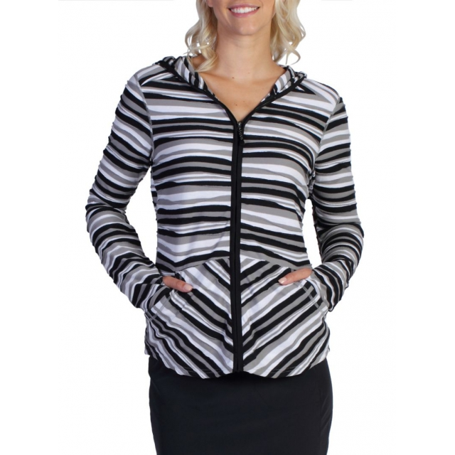 ExOfficio - Women's Techspressa Stripe Hoody