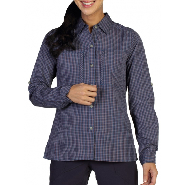 ExOfficio - Women's Drylite Check Long Sleeve Shirt