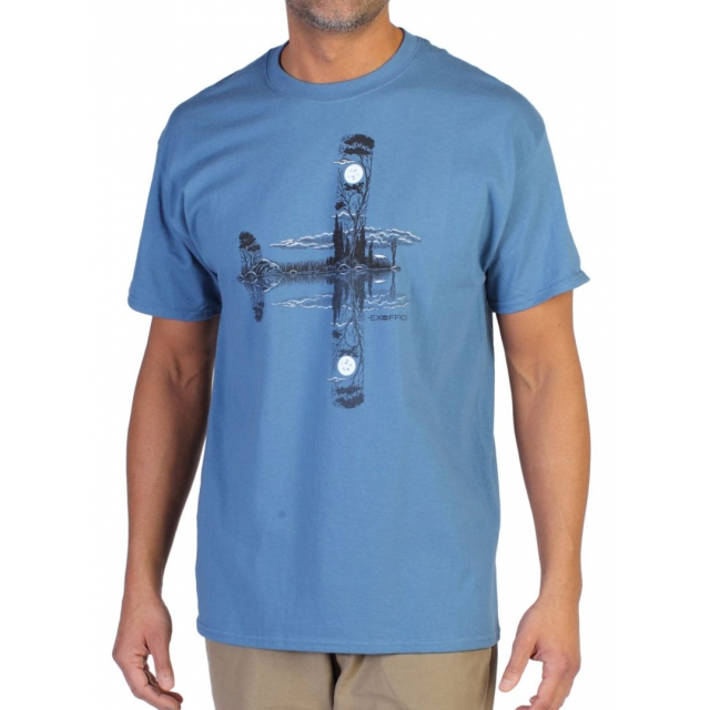 ExOfficio - Men's Reflections In Flight Graphic Tee