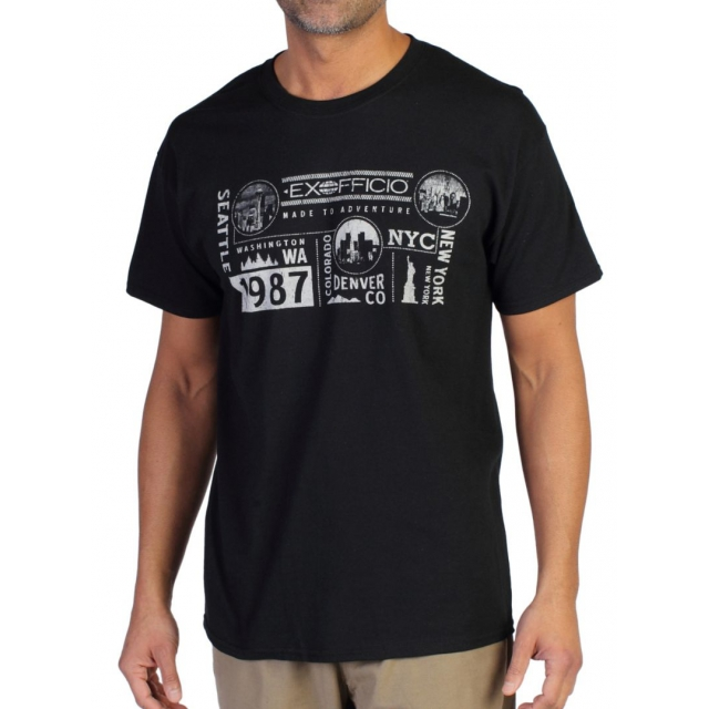 ExOfficio - Men's Coast To Coast Graphic Tee